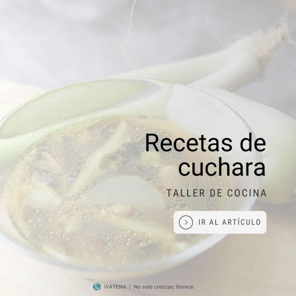 taller de cocina. recetas de cuchara