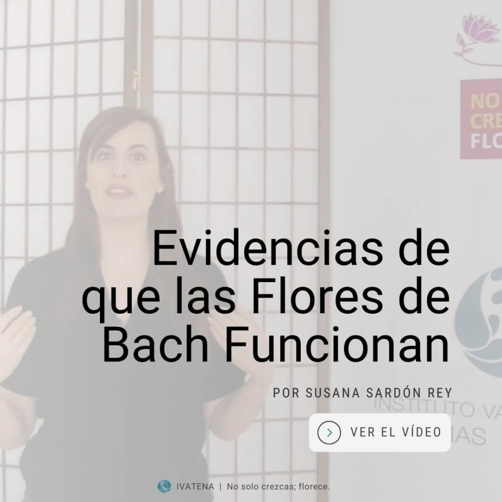 Las flores de Bach funcionan. Susana Sardon