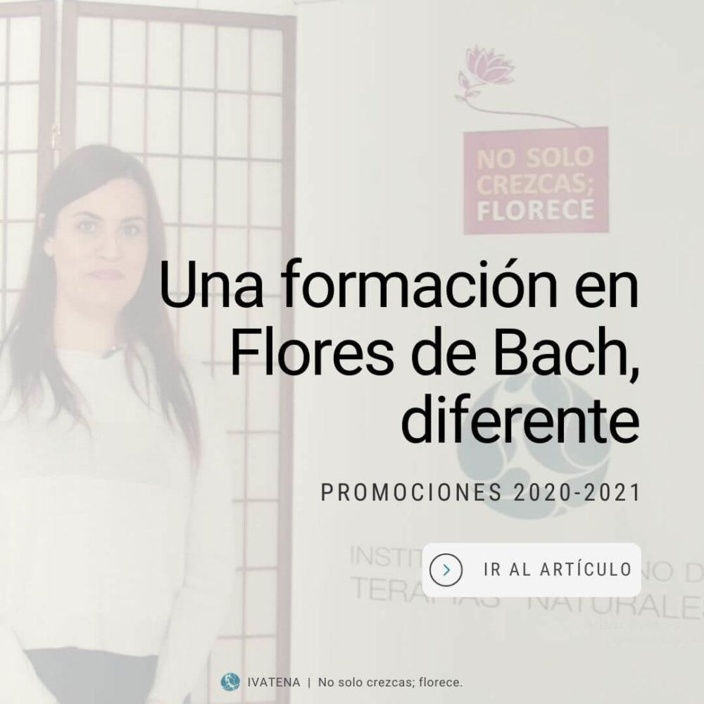 Una formación diferente en flores de Bach