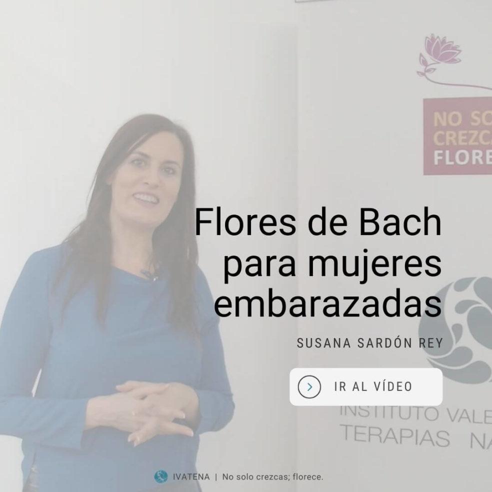 Embarazo y flores de bach