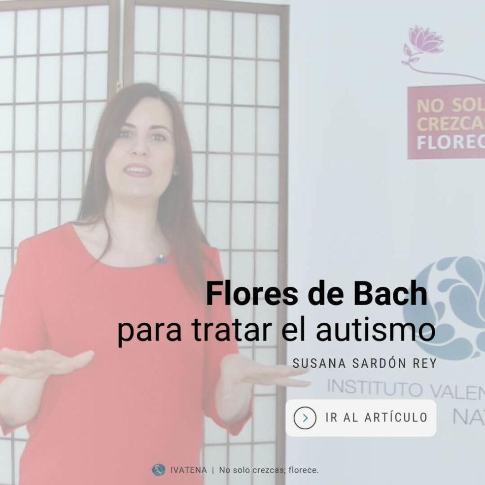 autismo y flores de bach